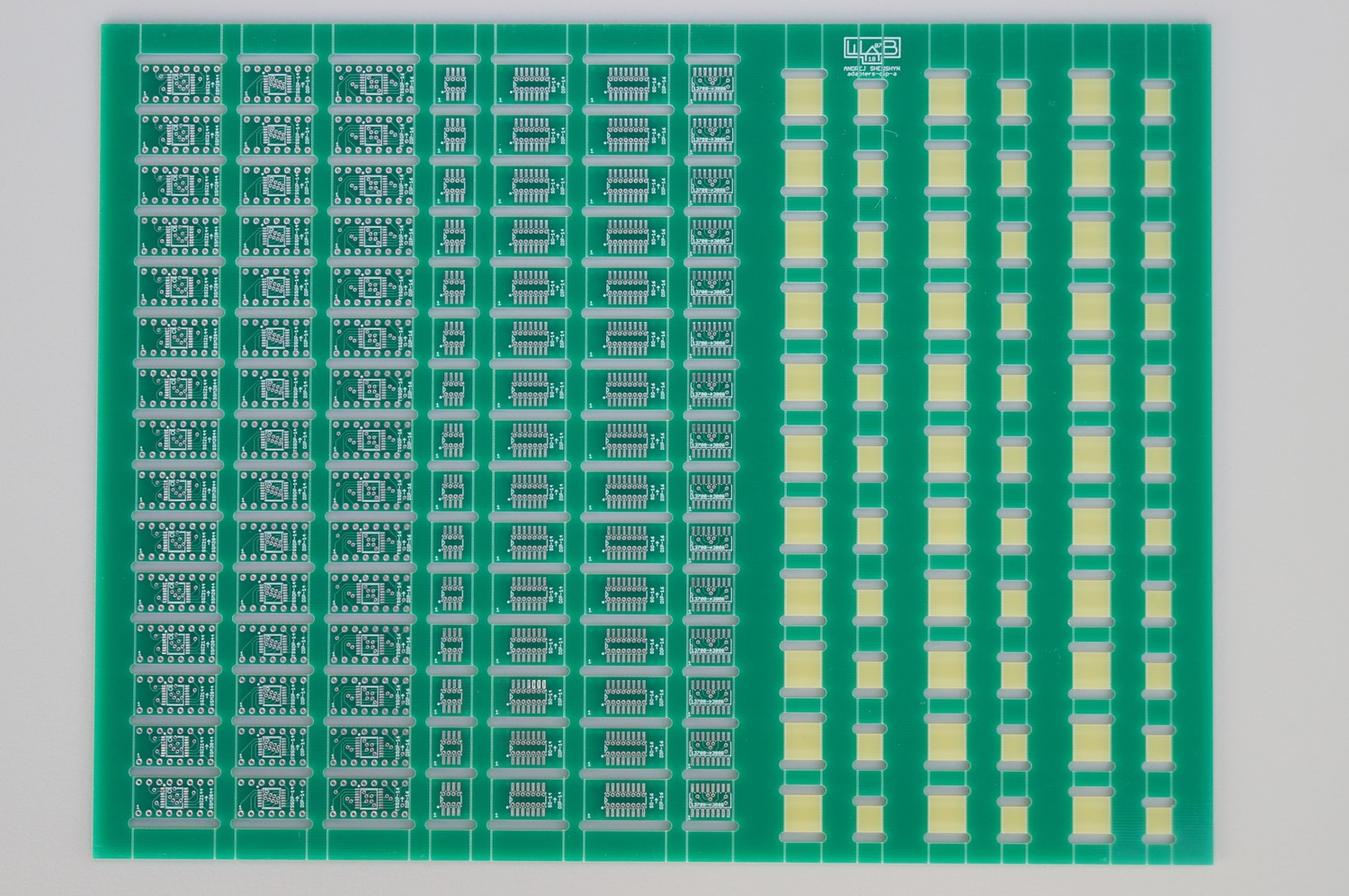 Panelized Adapter Pcbs Smd To Dip Sip For Synthesizer Techs Diy Sot 23 Adapters Polysix Switch 01