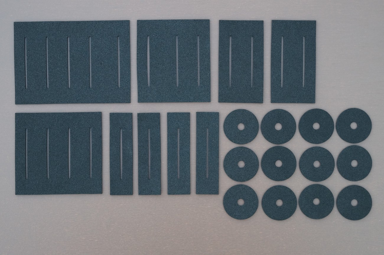 Potentiometer/slider dust covers/gaskets mainly for ROLAND