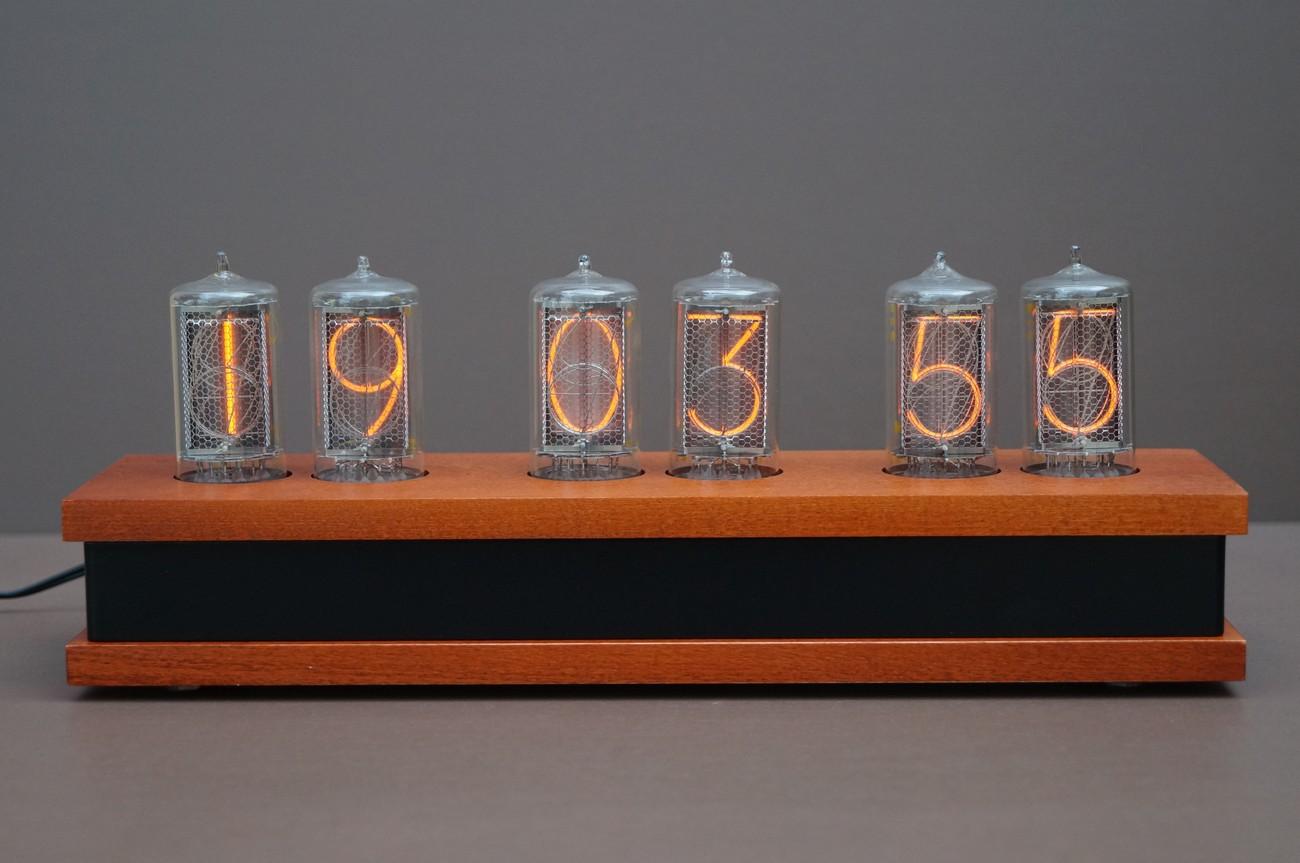 Nixie clock Z5660M   synthronics de